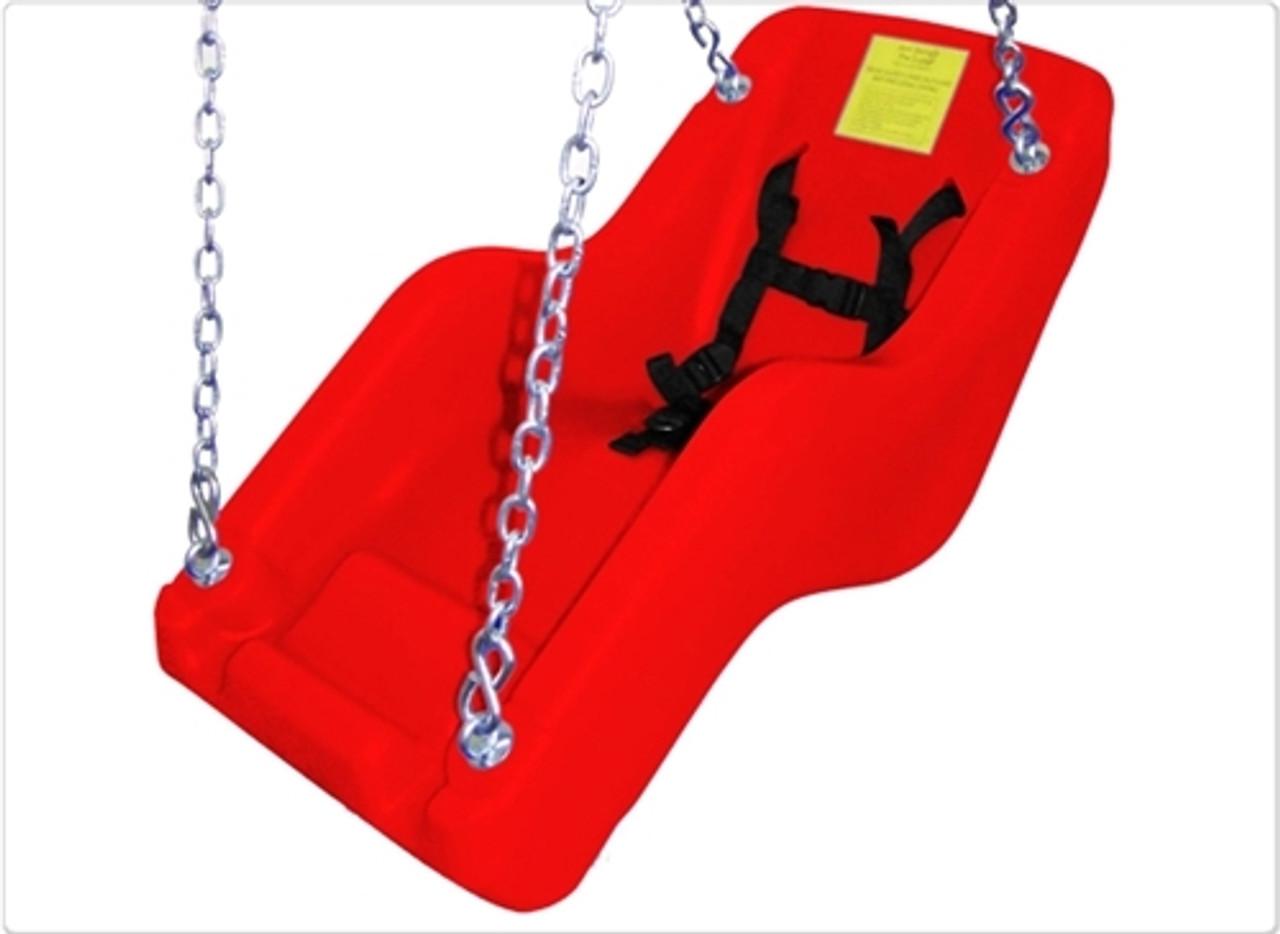 Jennswing  Handicap Swing Chair - Red