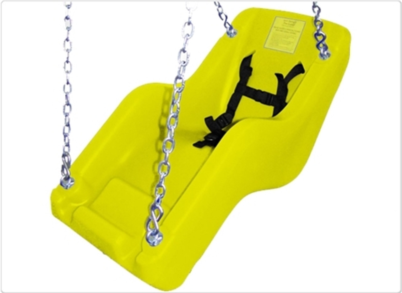 Jennswing  Handicap Swing Chair - Yellow