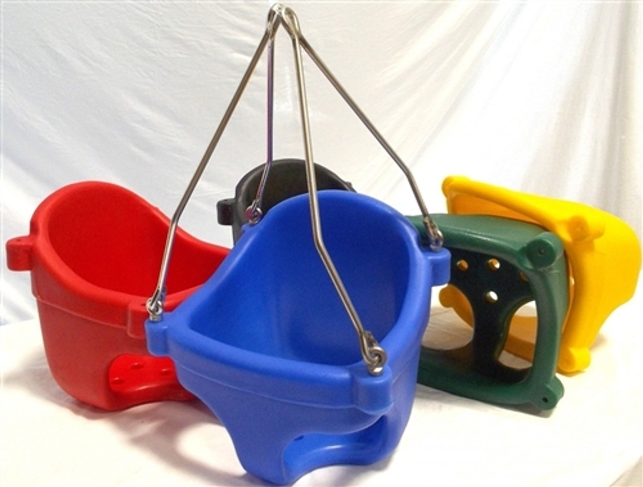 Roto-Molded Plastic Full Bucket Swing Seat