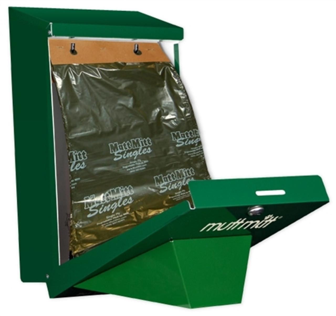 Mutt Mitt single ply bag dispenser