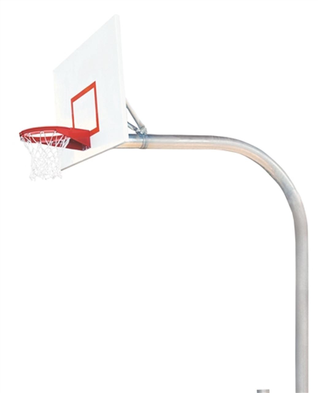 mega duty steel basketball system