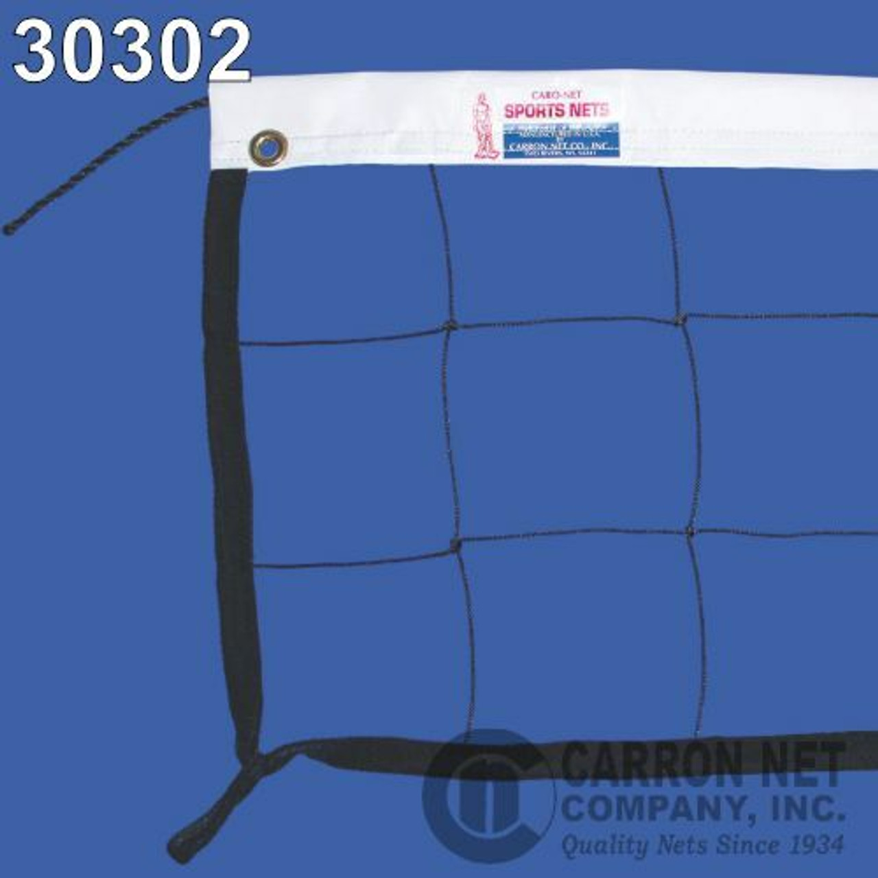 Hercules Competition Volleyball Net with Rope Top