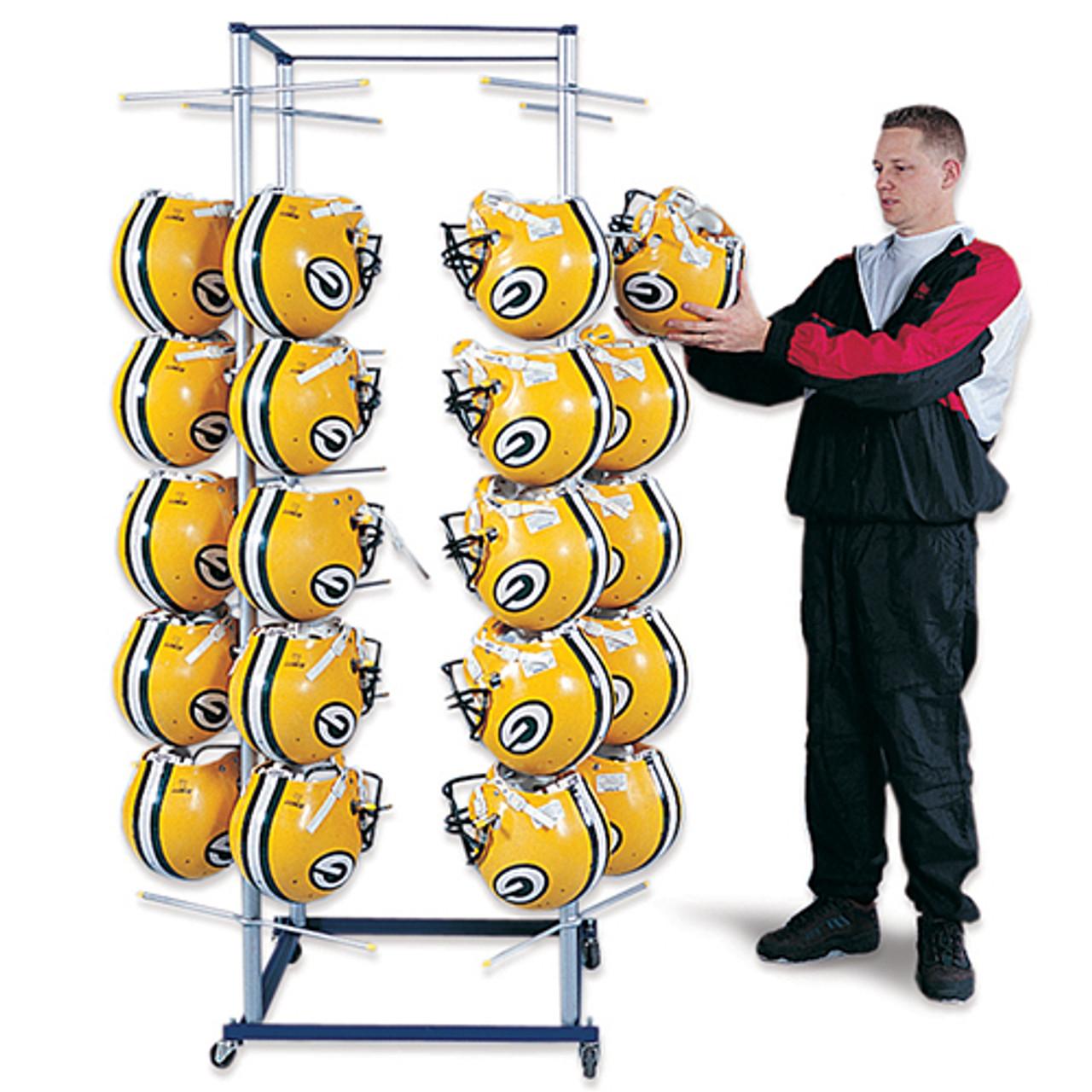 Stackmaster Football Helmet Rack