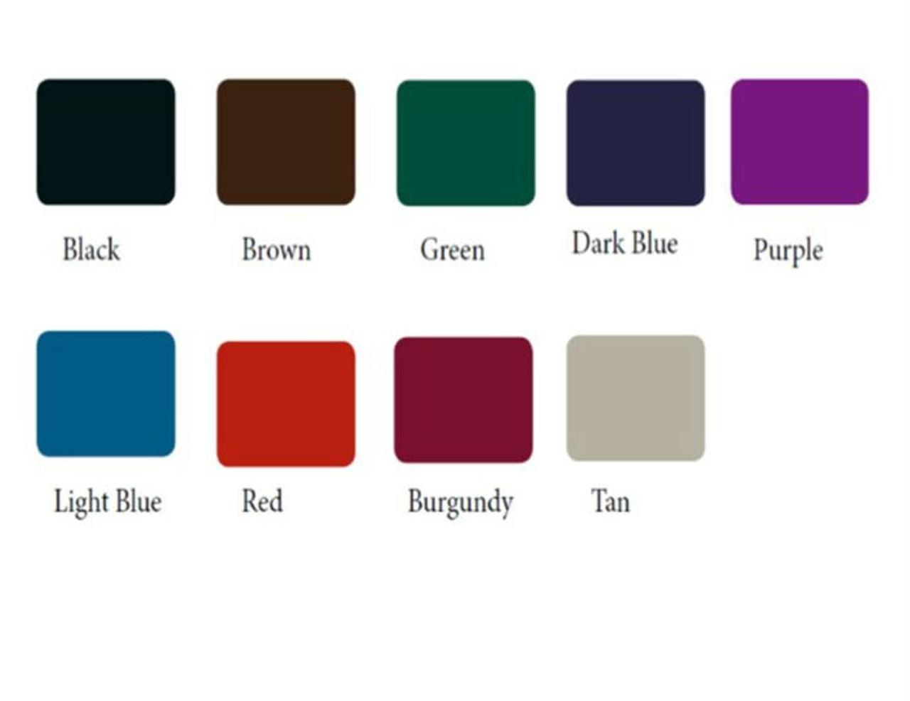 Picnic table colors