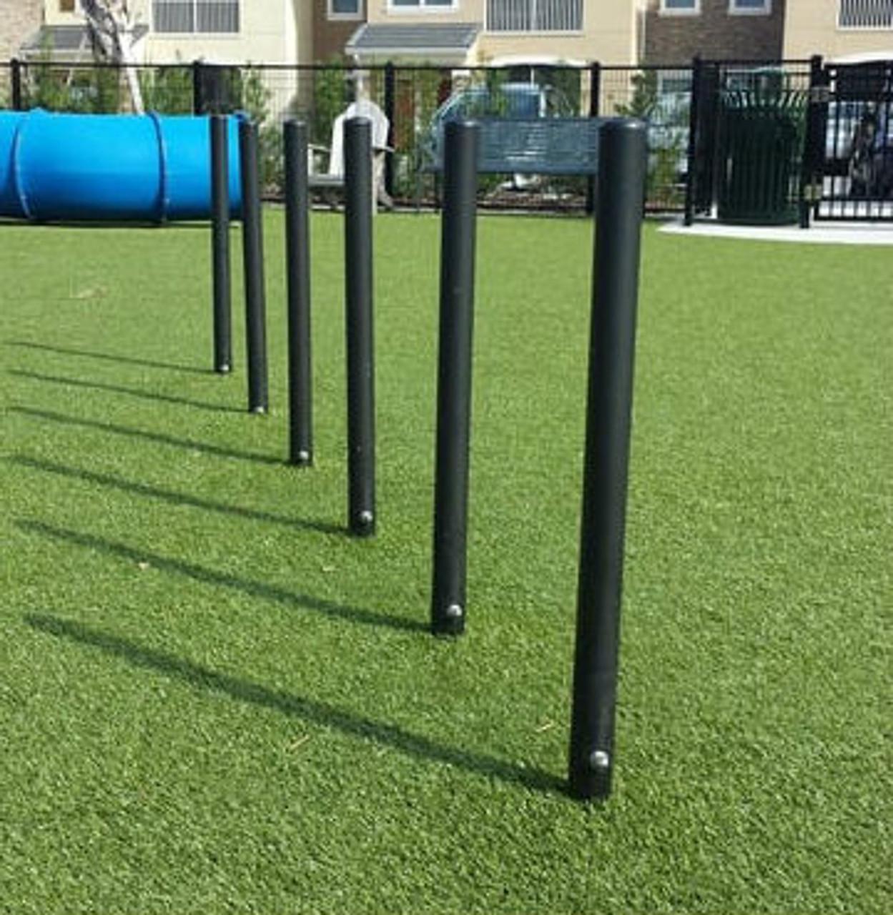 Dog Park Weave Activity Poles