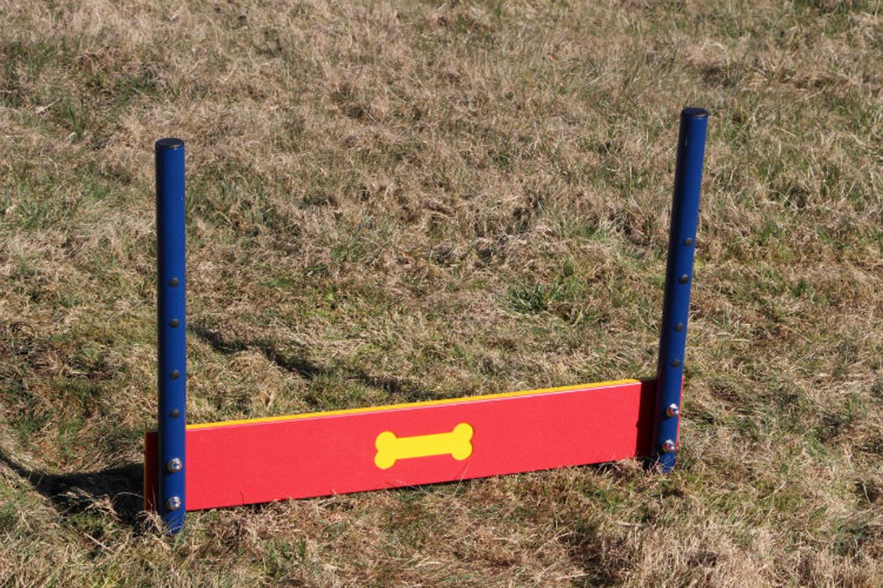 Single board dog jump