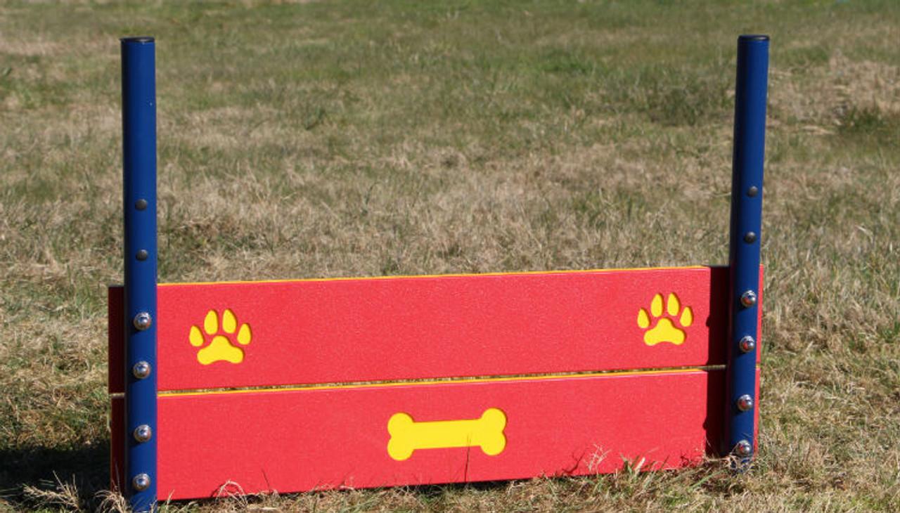 Double board dog jump