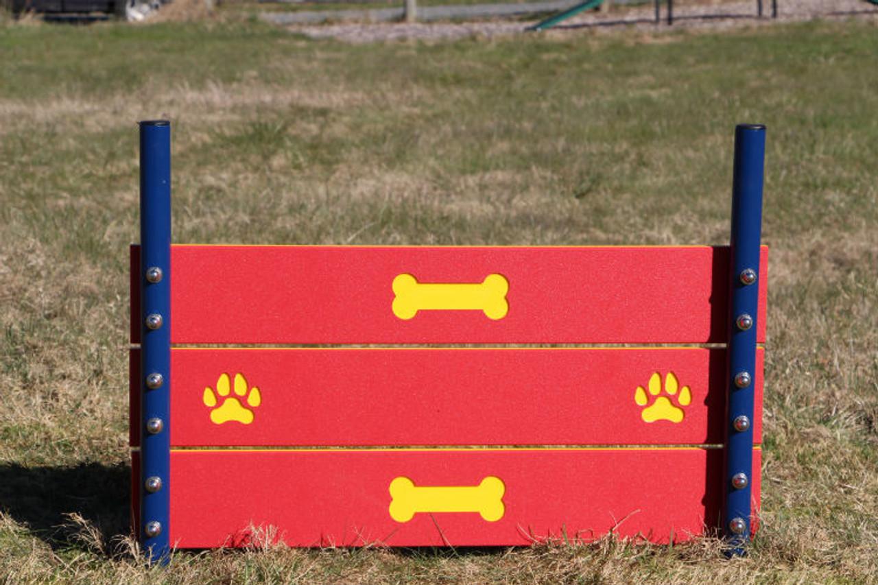 Triple board dog jump