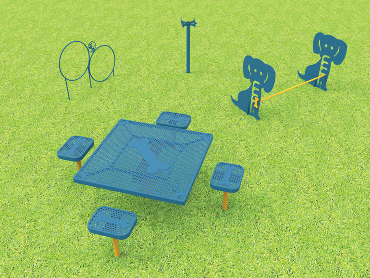 Dogs N Play Small Dog Park Kit