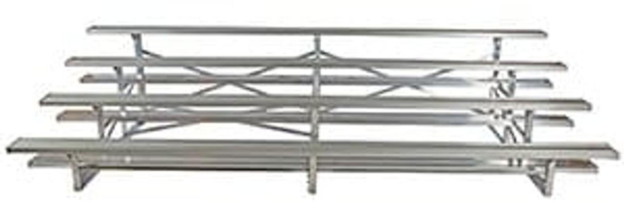 4 Row 40 Seat Portable Aluminum Bleacher