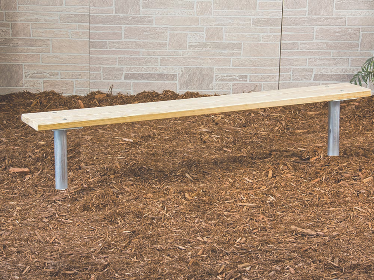 8' Treated Lumber Team Bench