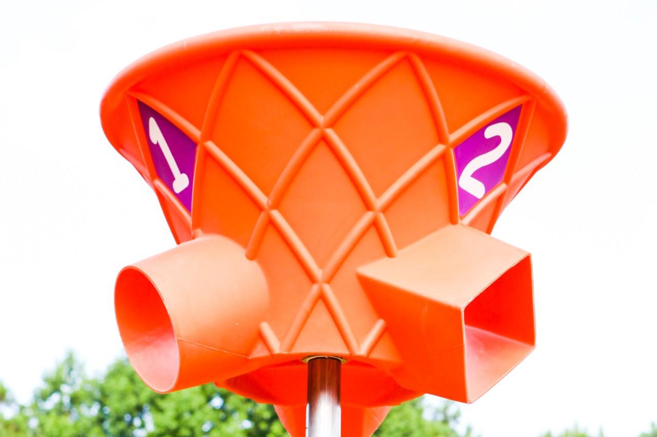 Triple Shoot Hoop-Orange