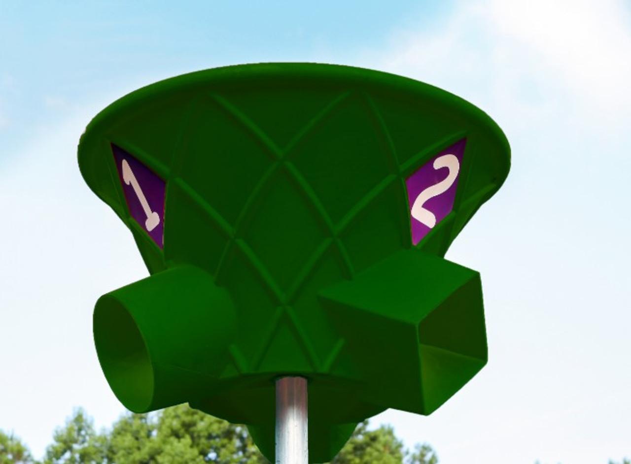 Triple Shoot Hoop-Green