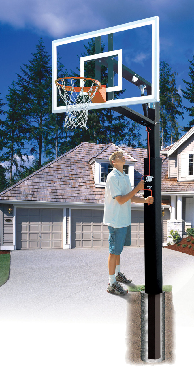 Residential Basketball Adjustable System