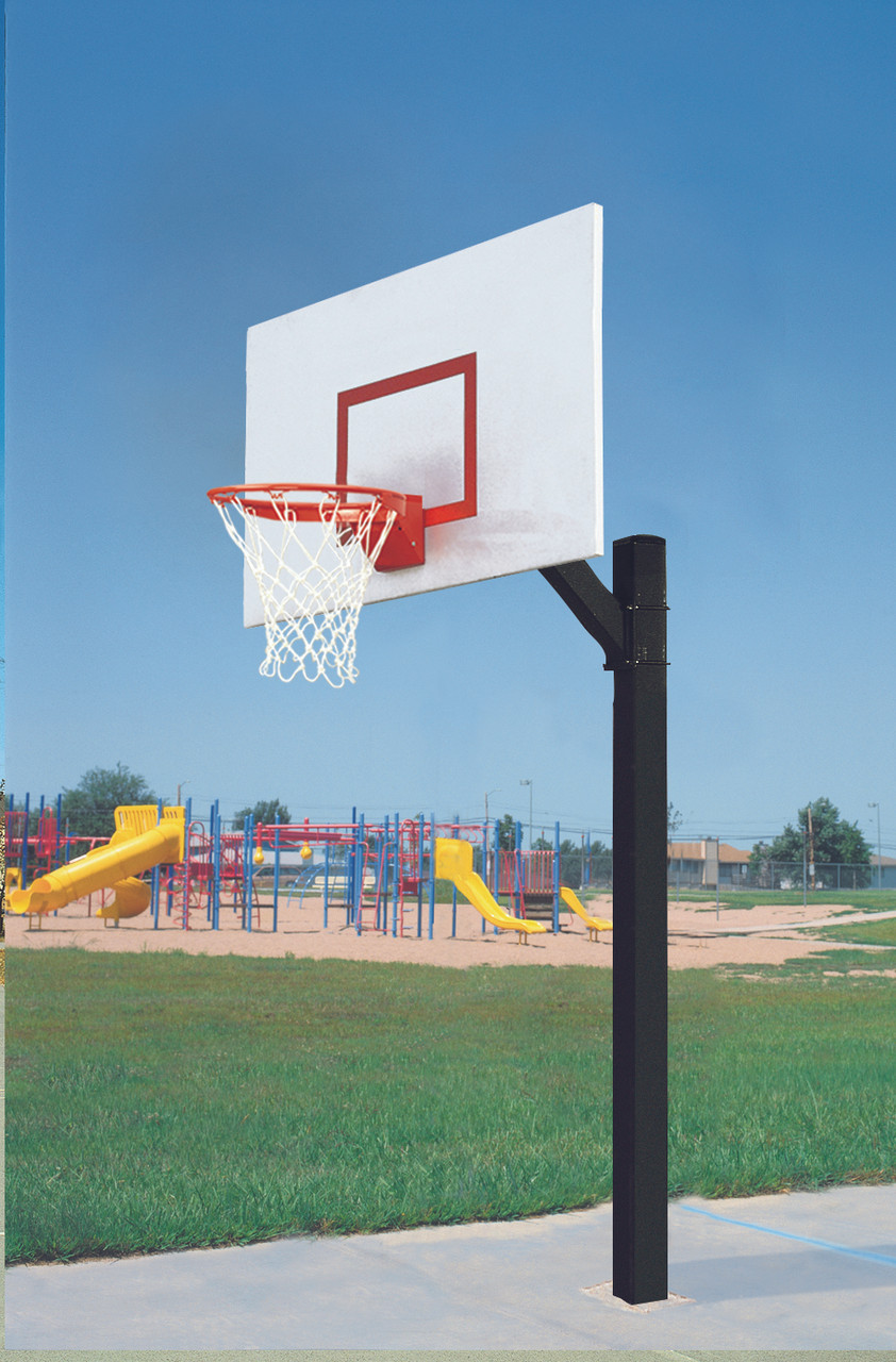 Ultimate Jr Rectangular Steel Basketball System