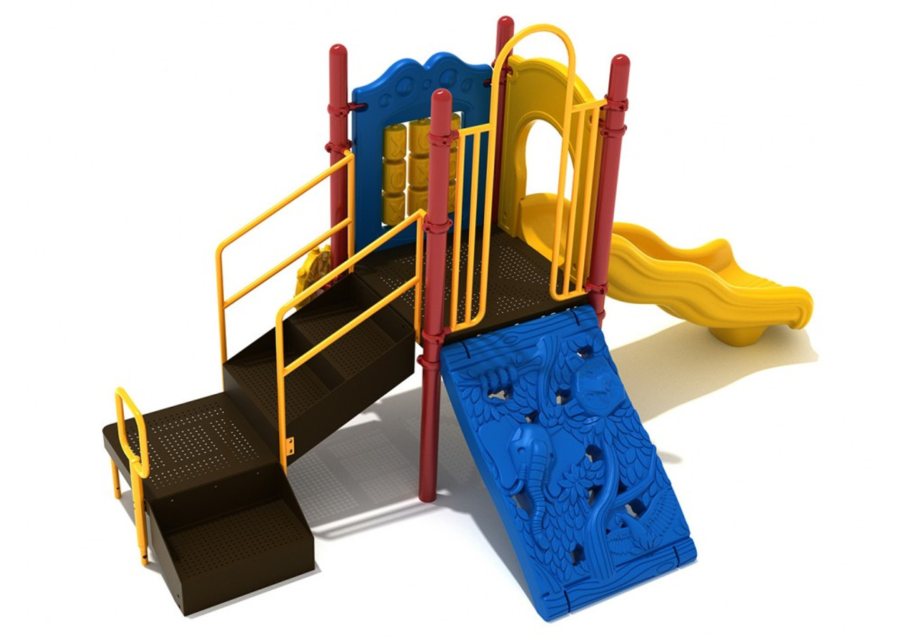Patriot's Point Playset, Rear view