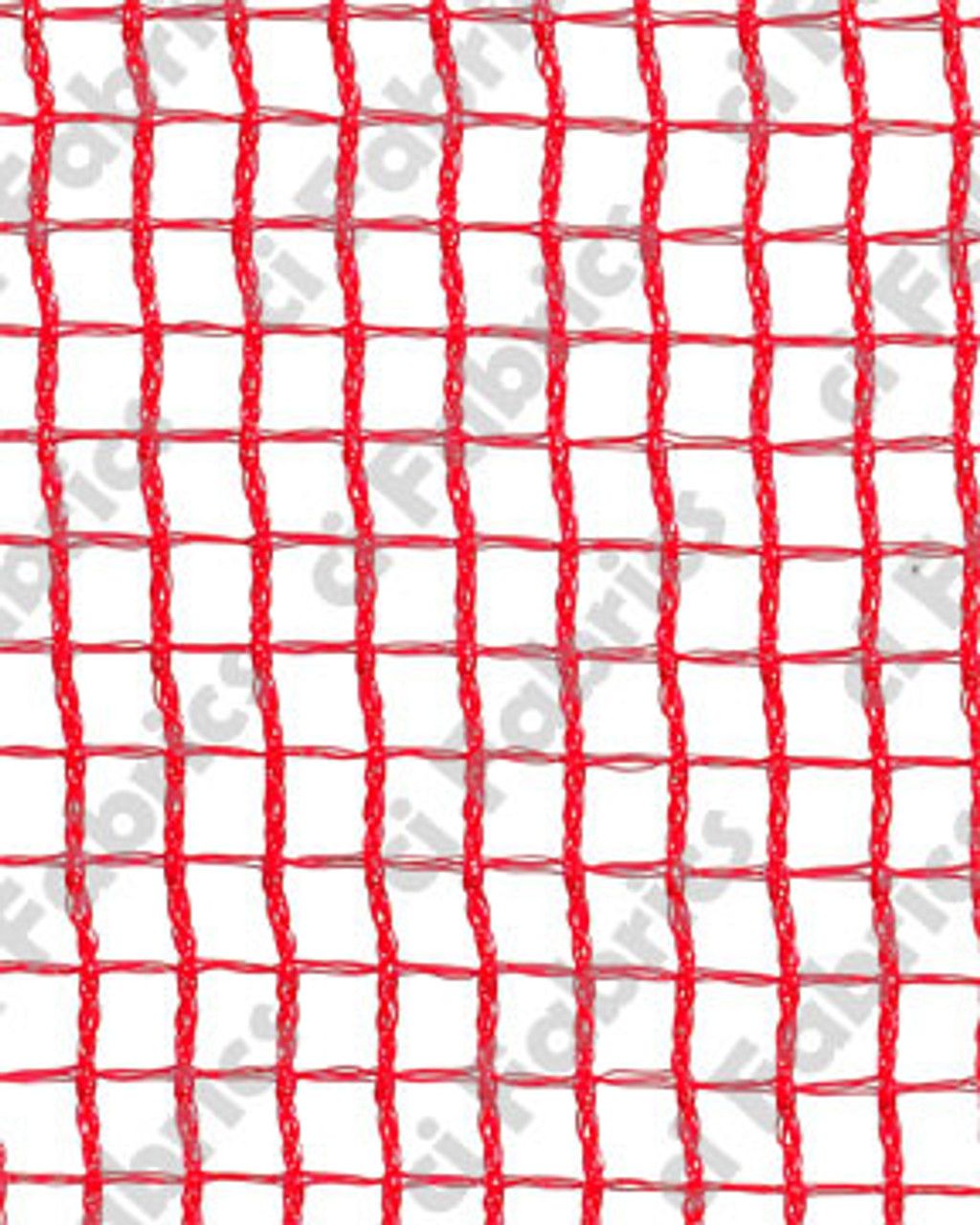 """Snow, Event and Debris Netting 66"""" x 150' - Red"""