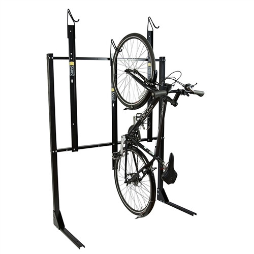Wall Mount - 3 Bike Parking with Locking Bar