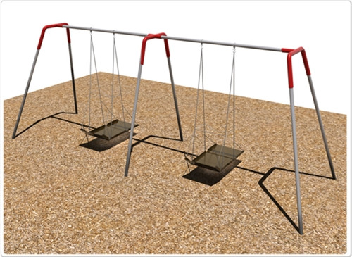 Wheelchair Platform Swing Set