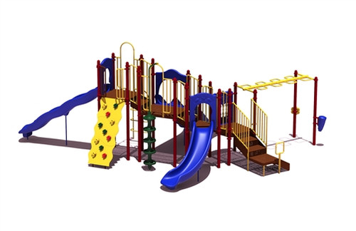 Slide Mountain Outdoor Playset