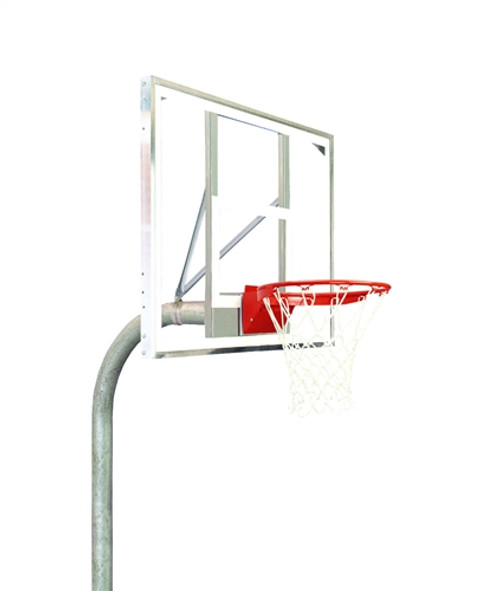 Polycarbonate Rectangle Basketball System