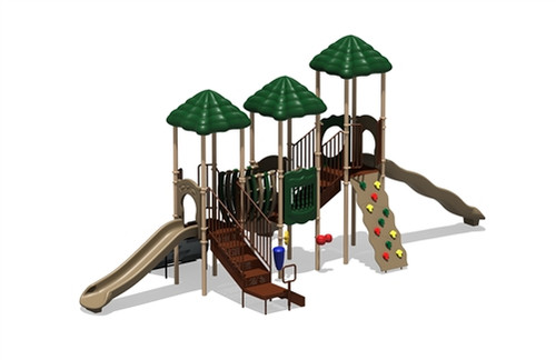 Rainbow Lake Outdoor Playset