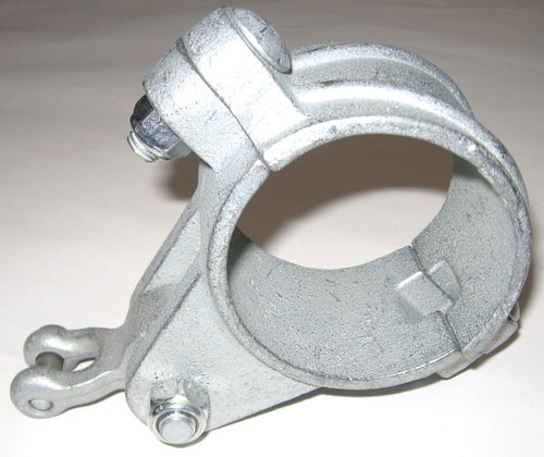 "2 3/8"" OD Ductile Iron Swing Hanger w/Shackle Pendulum"