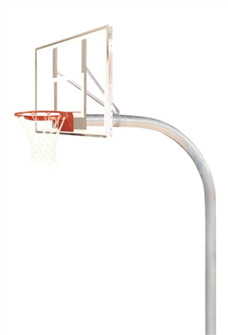 Mega Duty Unbreakable Glass Basketball System