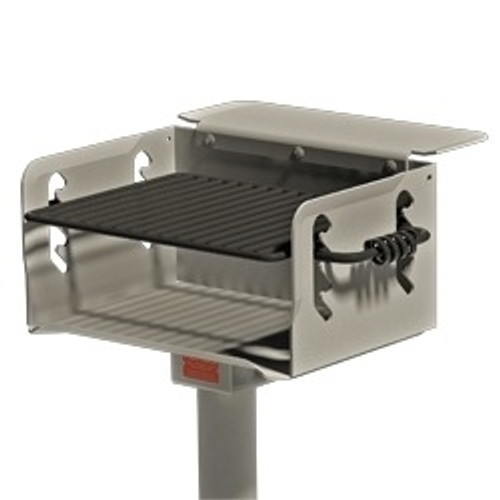 300 Sq Stainless Steel Multi Level Park Grill