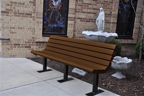 8' Jameson Park Bench