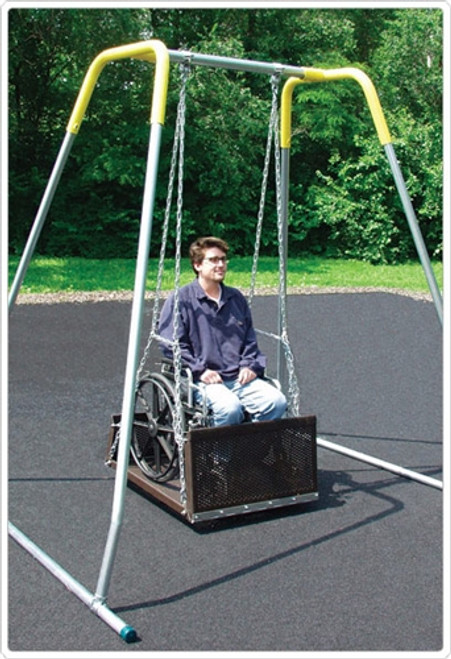 ADA Platform Wheelchair Swing - Adult