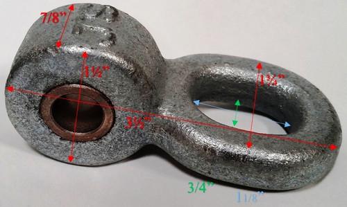 """1"""" Ductile Iron Replacement Pendulum Dims"""