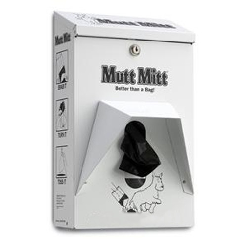 Mutt Mitt single ply bag dispenser