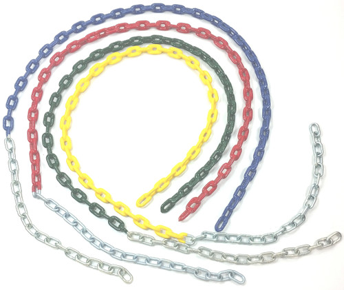 "3/16"" Coated Swing Chain 5 1/2'"