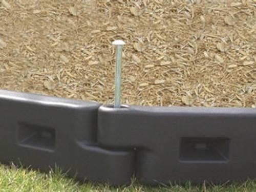 8 Inch Plastic Playground Border