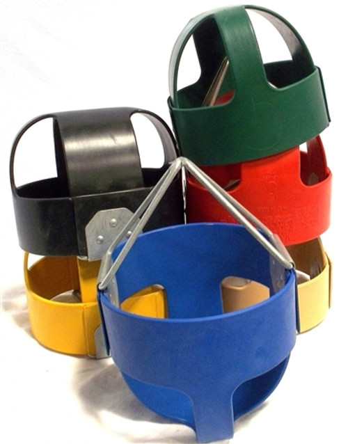 Tot Full Bucket Rubber Swing Seat