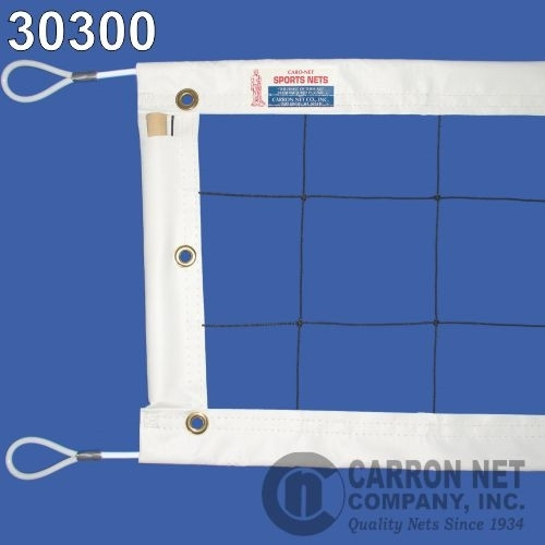 Power Volleyball Net Steel Cable Top and Bottom