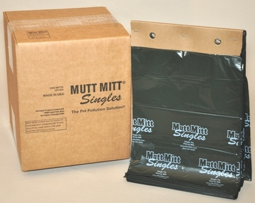 Mutt Mitt Carton of 2000 Dog Wast Bags