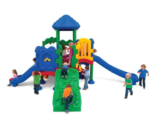 discovery center five children's outdoor playset