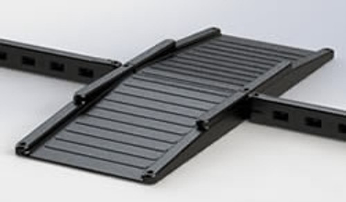 plastic full wheelchair ramp for playgrounds