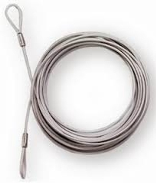 white tennis net cable