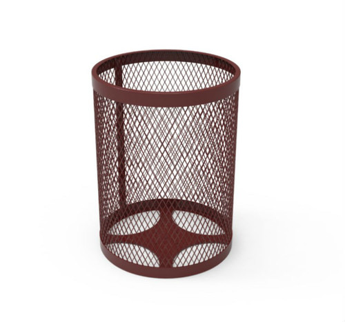 32 Gallon Expanded Metal Trash Can