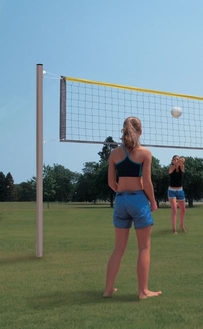Aluminum Recreation Volleyball System