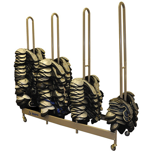 Football Shoulder Pad Rack