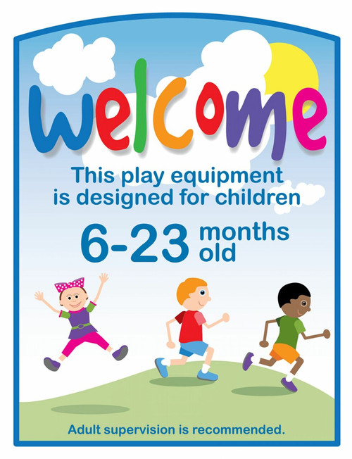 Welcome Sign 6-23 m/o