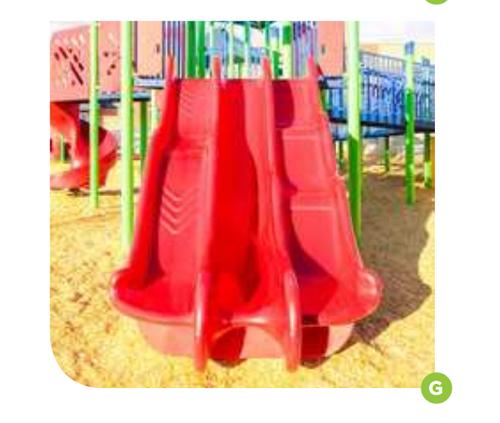 72' Alpine Thunder replacement playground slide