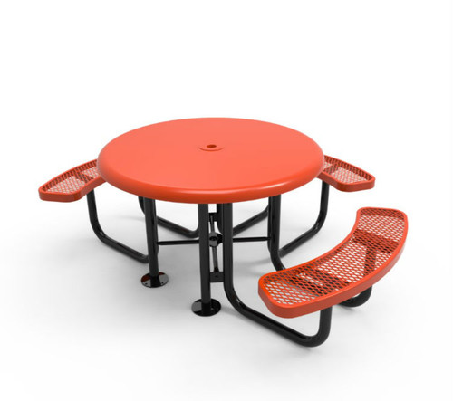 3 Seat Round ADA Accessible Picnic Table