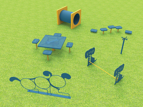 Medium Dog-N-Play Park Kit