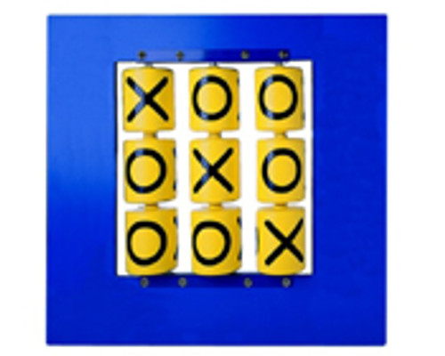 Tic Tac Toe Panel in Blue
