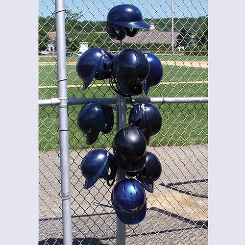 Batting Helmet Storage Rack